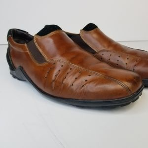 Cole Haan Shoes - Cole Haan Country Men's Brown Vibram Leather Suede
